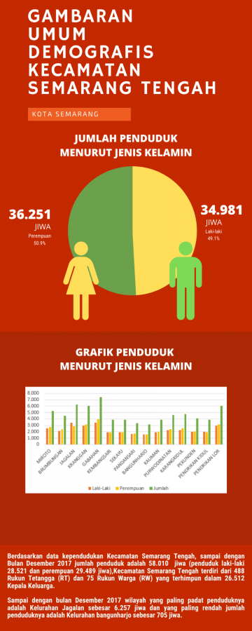Gambaran Umum Keadaan Demografis Kota Semarang